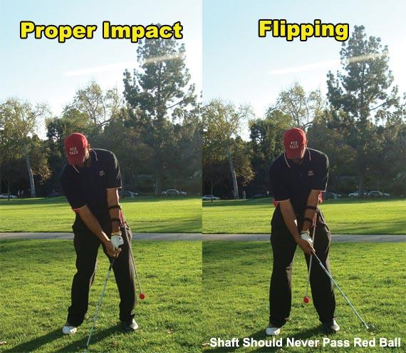 TALY Golf_Proper Impact and Flipping